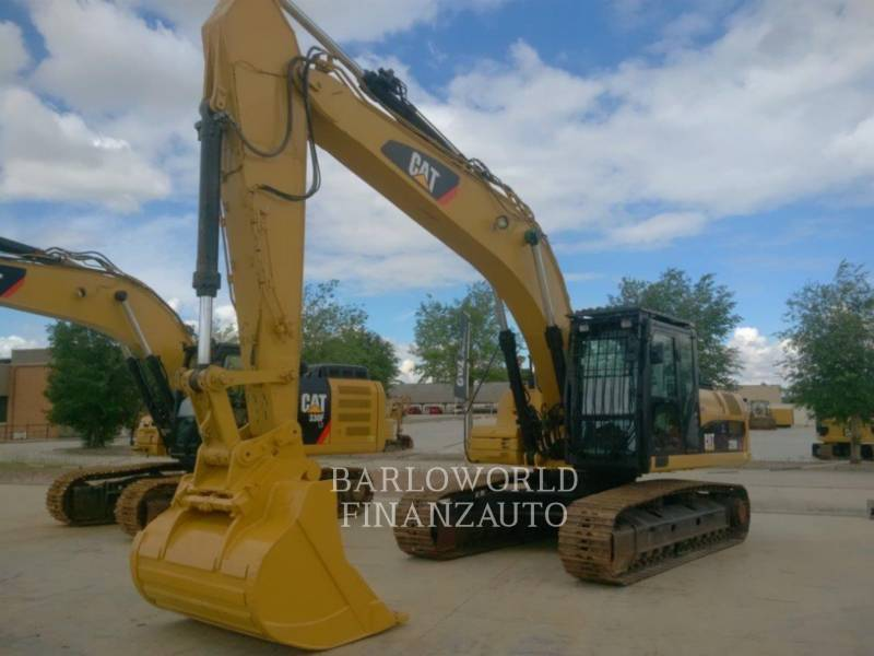 CATERPILLAR KETTEN-HYDRAULIKBAGGER 329DLN equipment  photo 2