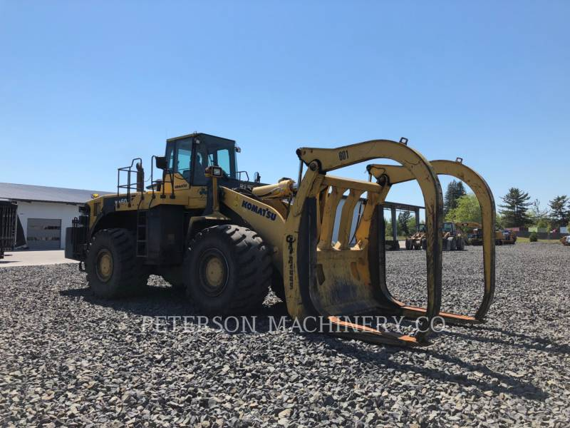 KOMATSU LTD. WHEEL LOADERS/INTEGRATED TOOLCARRIERS WA600-6 equipment  photo 2