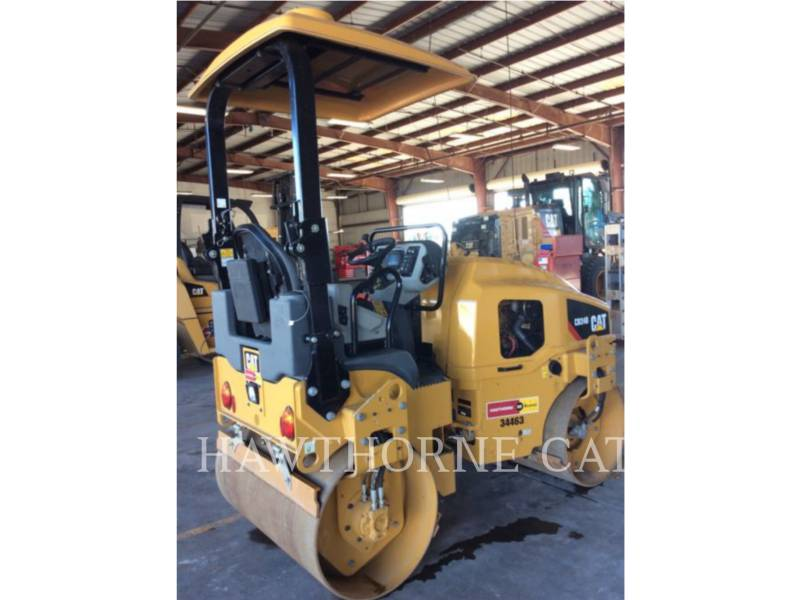 CATERPILLAR TANDEMVIBRATIONSWALZE, ASPHALT CB24B equipment  photo 5