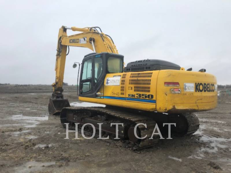 KOBELCO / KOBE STEEL LTD EXCAVADORAS DE CADENAS SK350L equipment  photo 3