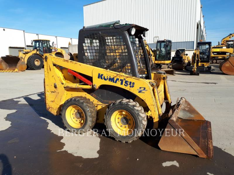 KOMATSU CHARGEURS COMPACTS RIGIDES SK714 equipment  photo 5