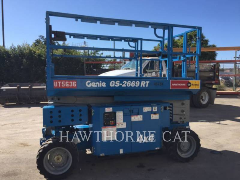 GENIE INDUSTRIES LEVANTAMIENTO - TIJERA GS2669RT equipment  photo 2