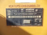 CATERPILLAR VIBRATORY SINGLE DRUM PAD CP-533E equipment  photo 6