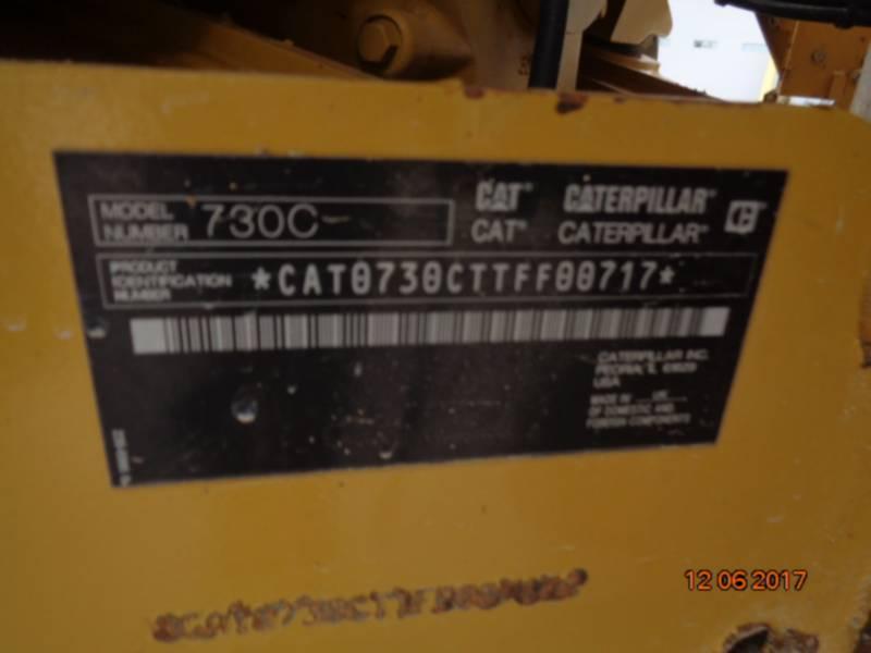CATERPILLAR ARTICULATED TRUCKS 730C equipment  photo 20
