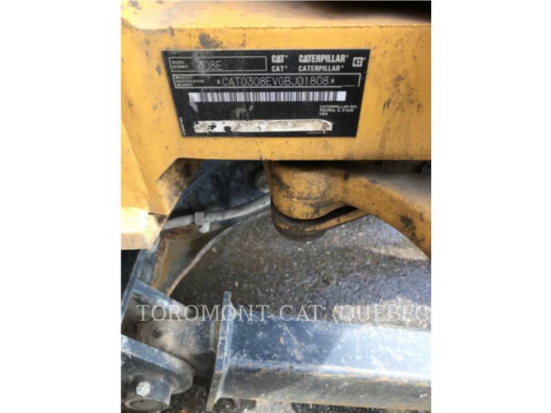 CATERPILLAR TRACK EXCAVATORS 308ECRSB equipment  photo 13