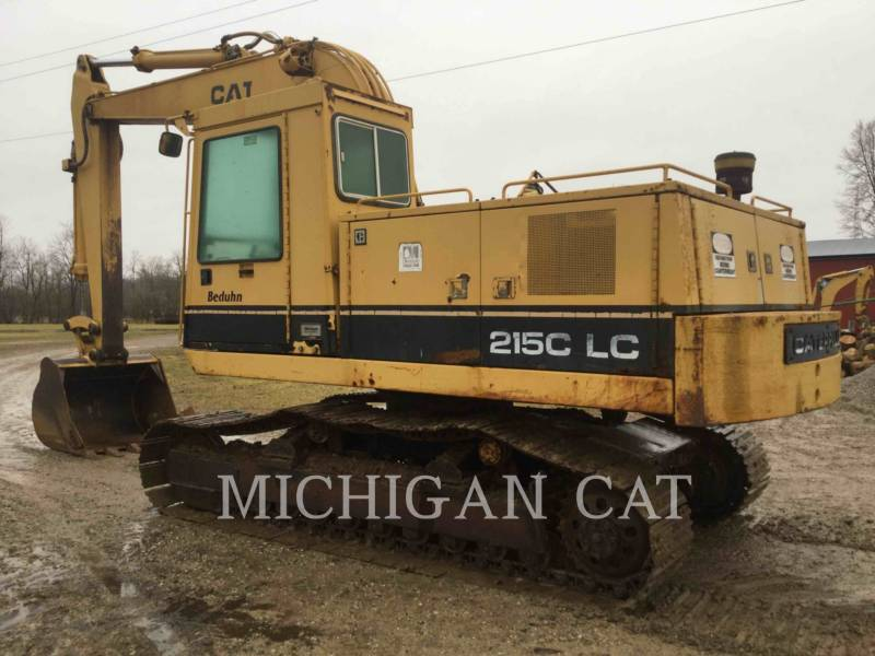 CATERPILLAR TRACK EXCAVATORS 215C LC equipment  photo 6