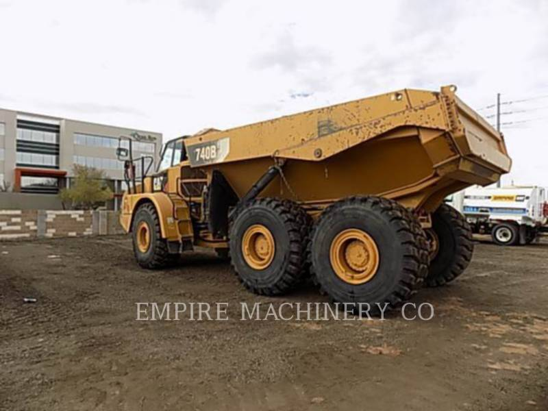 CATERPILLAR WOZIDŁA TECHNOLOGICZNE 740B TG equipment  photo 3