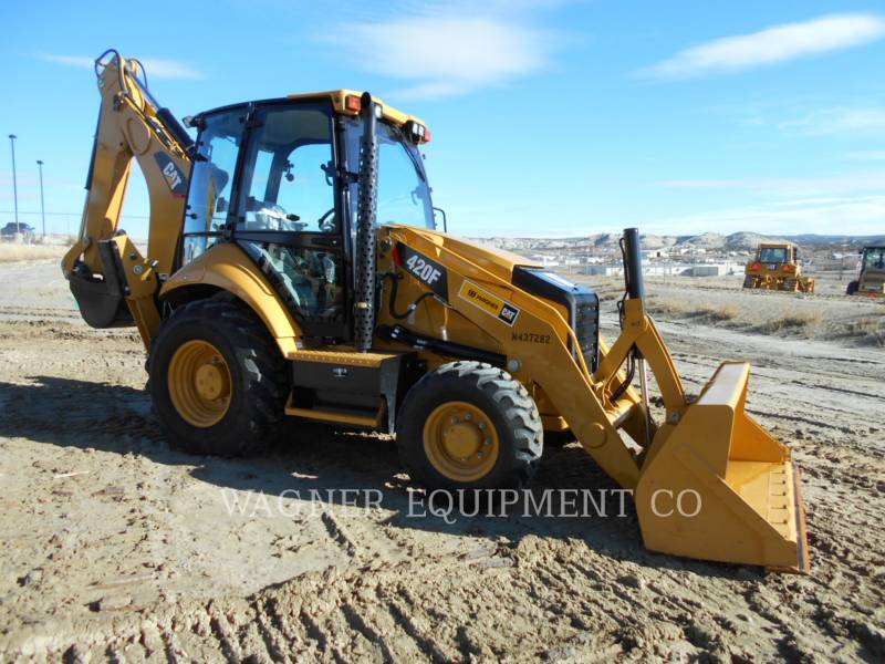 CATERPILLAR バックホーローダ 420F 4WD equipment  photo 2