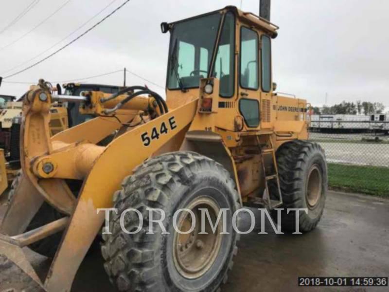 DEERE & CO. PALE GOMMATE/PALE GOMMATE MULTIUSO 544E equipment  photo 1
