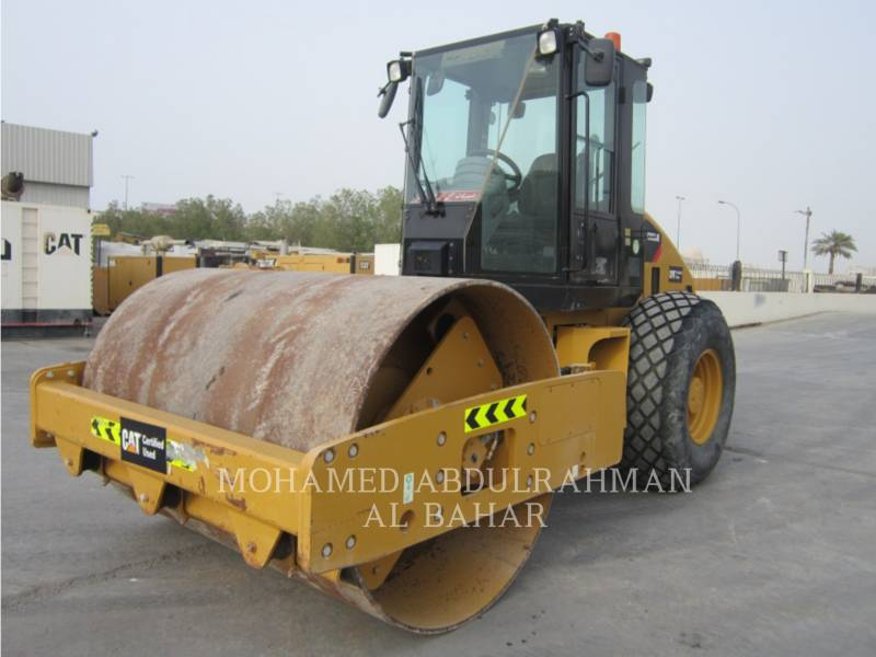 CATERPILLAR VIBRATORY SINGLE DRUM SMOOTH CS-533E equipment  photo 1