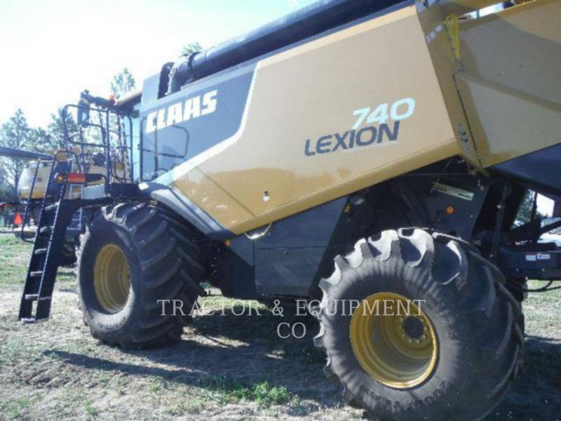 LEXION COMBINE KOMBAJNY LX740 equipment  photo 3