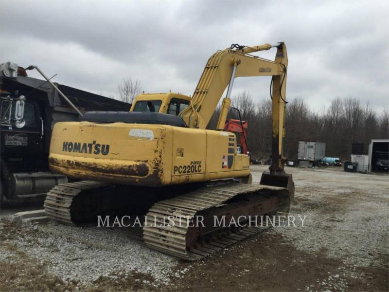 KOMATSU TRACK EXCAVATORS PC220LC equipment  photo 2