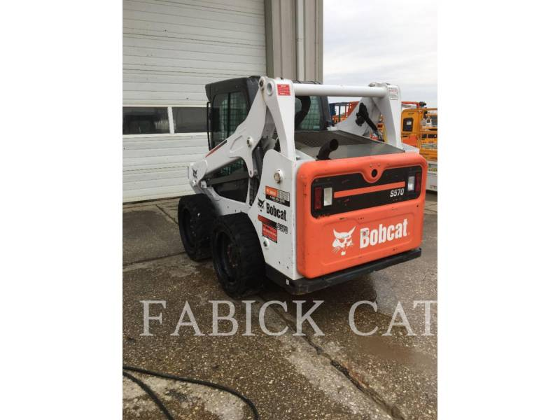 BOBCAT SKID STEER LOADERS S570 equipment  photo 3