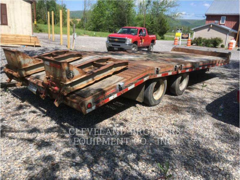 INTERSTATE TRAILERS REMOLQUES 40DLA equipment  photo 2