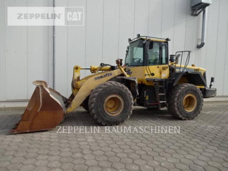 KOMATSU LTD. ŁADOWARKI KOŁOWE/ZINTEGROWANE NOŚNIKI NARZĘDZI WA430 equipment  photo 5