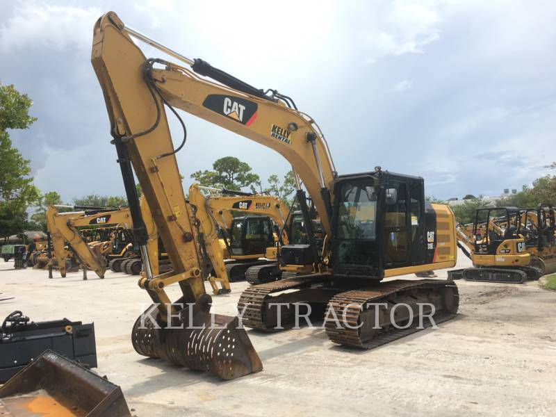 CATERPILLAR KETTEN-HYDRAULIKBAGGER 318EL equipment  photo 1