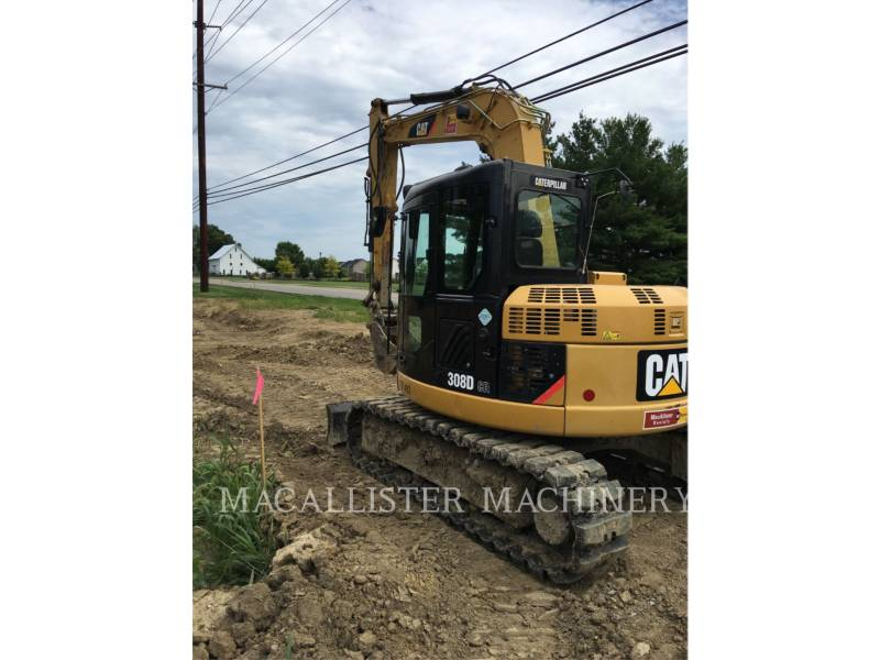 CATERPILLAR TRACK EXCAVATORS 308DCR equipment  photo 3