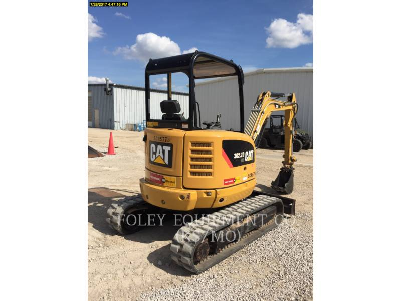 CATERPILLAR PELLES SUR CHAINES 302.7DCRLO equipment  photo 3