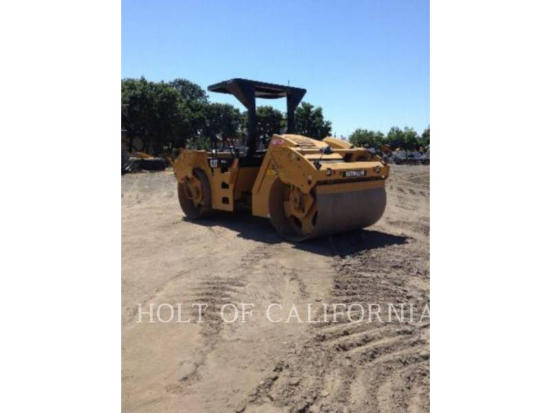 CATERPILLAR COMPATTATORE PER ASFALTO A DOPPIO TAMBURO VIBRANTE CB54 equipment  photo 6