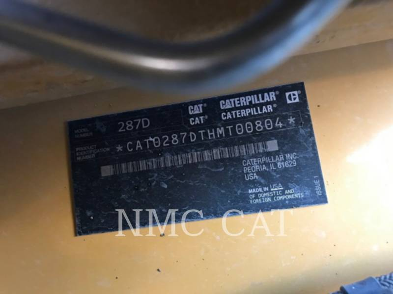 CATERPILLAR 多様地形対応ローダ 287D equipment  photo 6