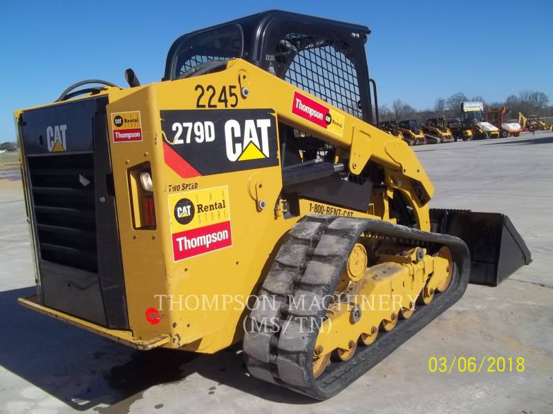 CATERPILLAR SKID STEER LOADERS 279D equipment  photo 5