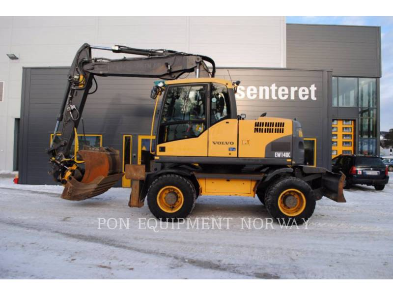 VOLVO KOPARKI GĄSIENICOWE EW140C equipment  photo 6