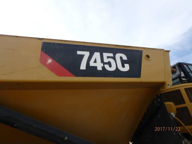 CATERPILLAR アーティキュレートトラック 745C equipment  photo 22