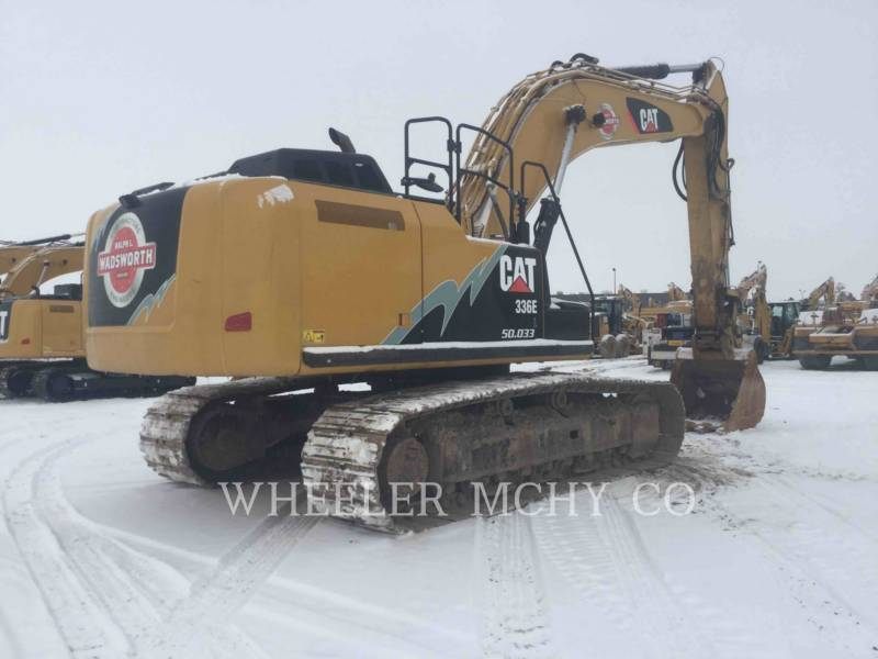 CATERPILLAR TRACK EXCAVATORS 336E L CFM equipment  photo 1