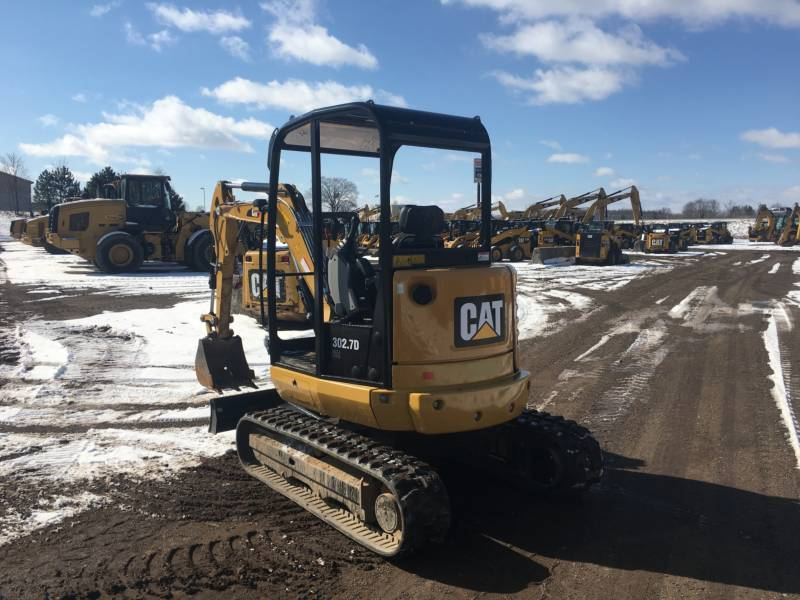 CATERPILLAR EXCAVADORAS DE CADENAS 302.7DCR equipment  photo 3