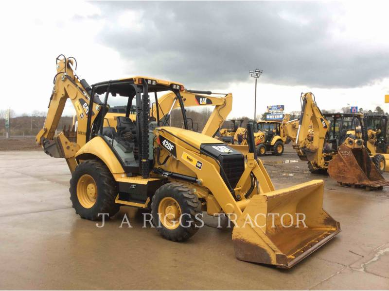 CATERPILLAR CHARGEUSES-PELLETEUSES 420F 4H equipment  photo 8