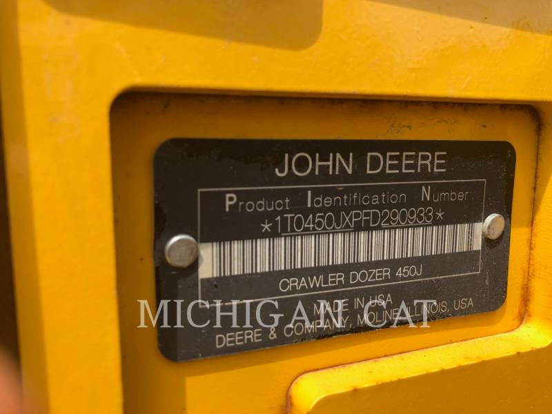 JOHN DEERE TRACK TYPE TRACTORS 450JLT equipment  photo 19
