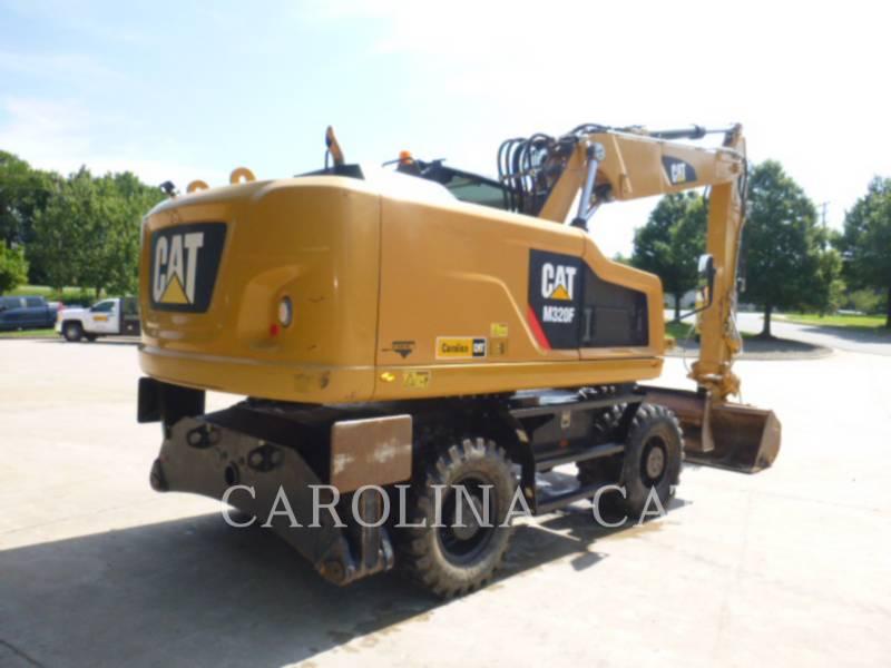 CATERPILLAR WHEEL EXCAVATORS M320 F equipment  photo 3