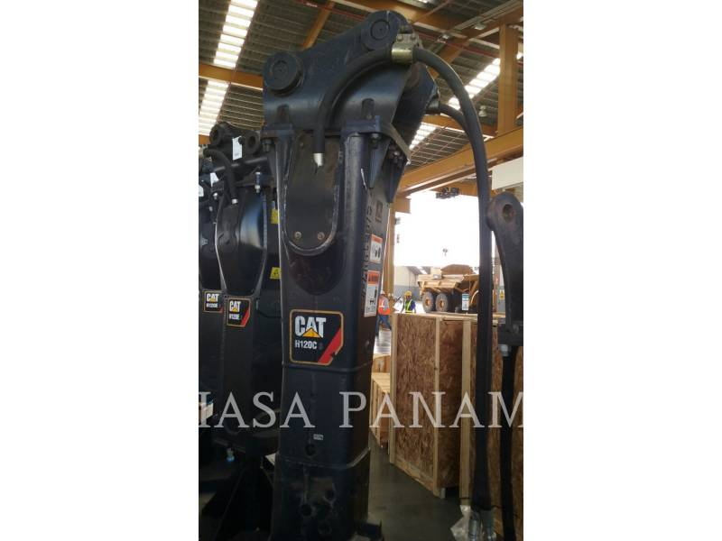 CATERPILLAR  HAMMER H 120 C S equipment  photo 2