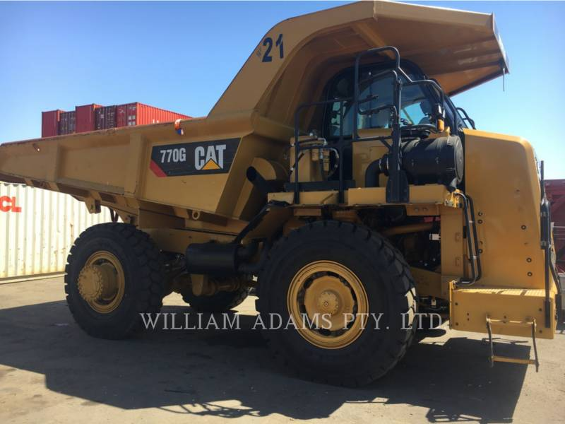 CATERPILLAR TOMBEREAUX DE CHANTIER 770G equipment  photo 7