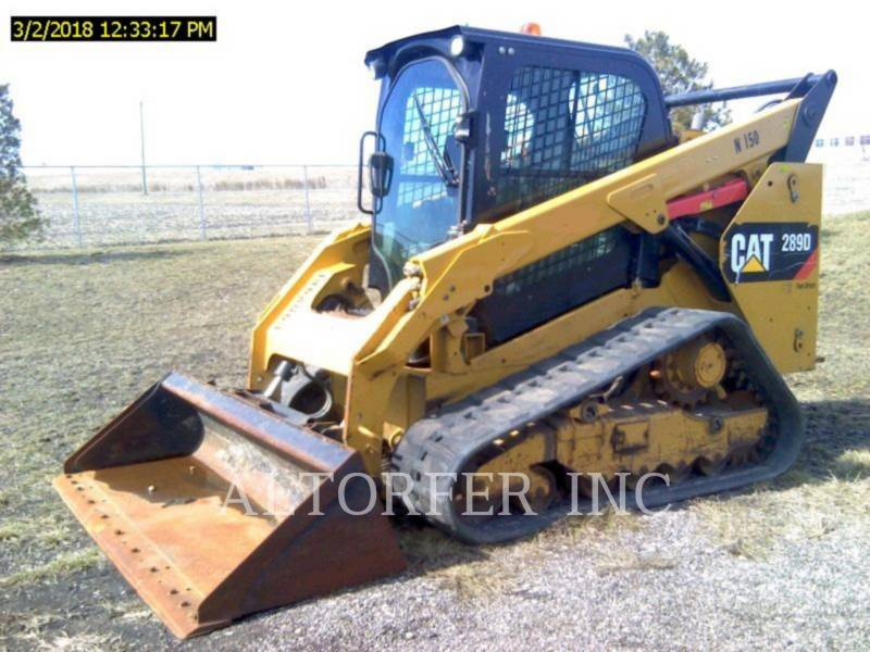 CATERPILLAR CHARGEURS COMPACTS RIGIDES 289D equipment  photo 3