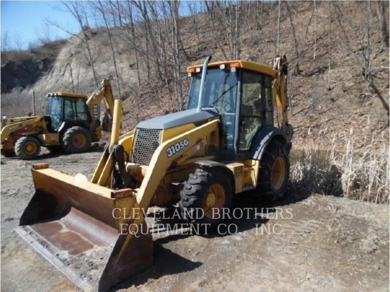 DEERE & CO. BACKHOE LOADERS 310SJ equipment  photo 1