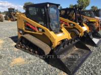 Equipment photo Caterpillar 247B3 MINIÎNCĂRCĂTOARE RIGIDE MULTIFUNCŢIONALE 1