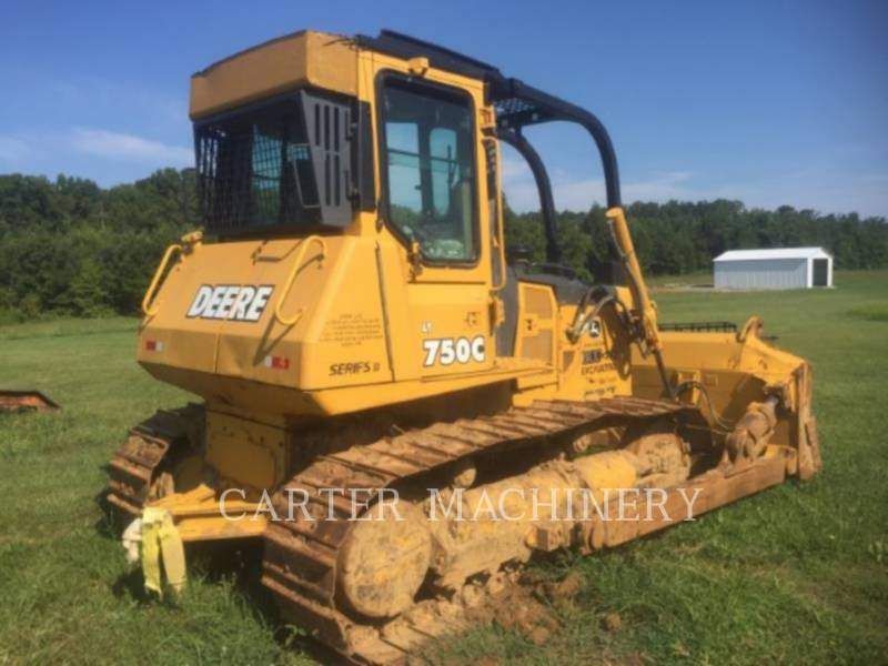 DEERE & CO. TRACK TYPE TRACTORS DER 750C equipment  photo 3