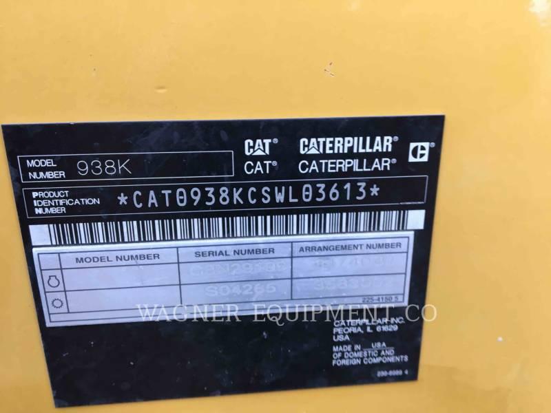 CATERPILLAR RADLADER/INDUSTRIE-RADLADER 938K FC equipment  photo 5