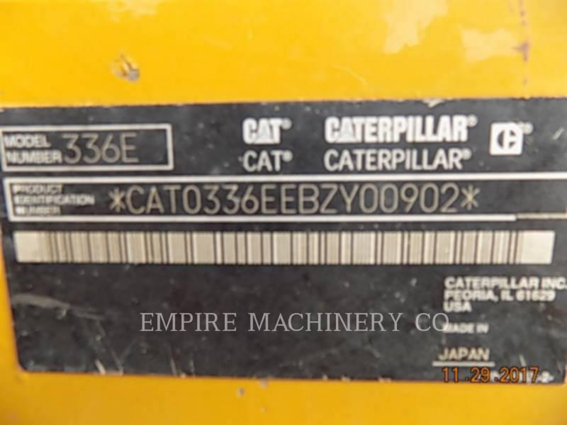 CATERPILLAR TRACK EXCAVATORS 336EL equipment  photo 2