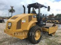 CATERPILLAR COMPACTEUR VIBRANT, MONOCYLINDRE LISSE CS44B equipment  photo 5