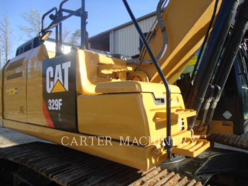 CATERPILLAR KETTEN-HYDRAULIKBAGGER 329F CF equipment  photo 7