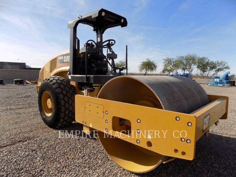 CATERPILLAR TRILLENDE ENKELE TROMMEL GLAD CS54B equipment  photo 1