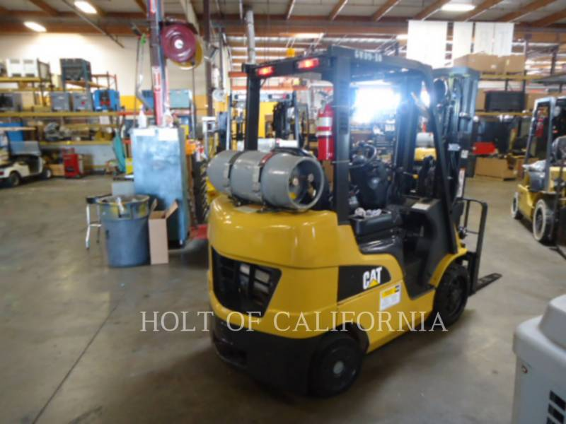 CATERPILLAR MITSUBISHI CARRELLI ELEVATORI A FORCHE C5000-LE equipment  photo 3
