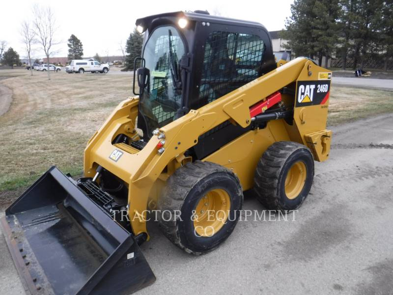 CATERPILLAR CHARGEURS COMPACTS RIGIDES 246D H2CB equipment  photo 1