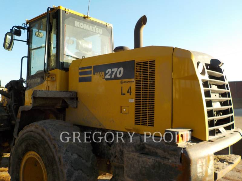 KOMATSU WHEEL LOADERS/INTEGRATED TOOLCARRIERS WA270-7 equipment  photo 8