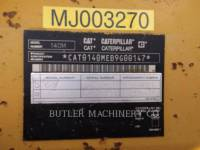 CATERPILLAR MOTOR GRADERS 140MAWD equipment  photo 8