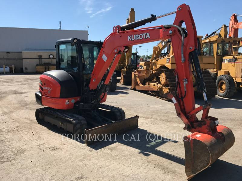 KUBOTA CORPORATION EXCAVADORAS DE CADENAS KX040-4 equipment  photo 4