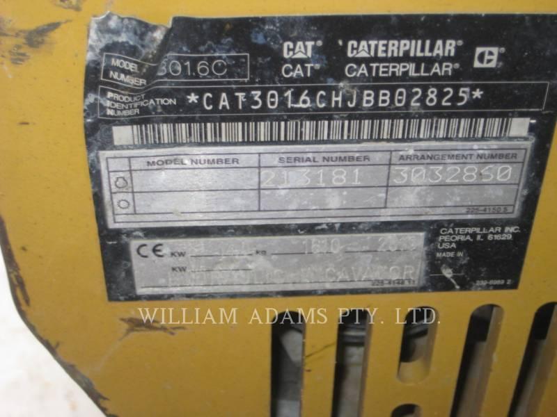 CATERPILLAR EXCAVADORAS DE CADENAS 301.6C equipment  photo 7