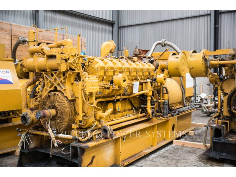CATERPILLAR FIXE - GAZ NATUREL G3516 ENGINE 4 PCS equipment  photo 2